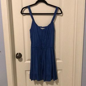 Abercrombie and Fitch blue summer dress